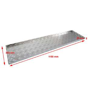 00452 1220 mm Aluminium Shelf for Storage Tool Box