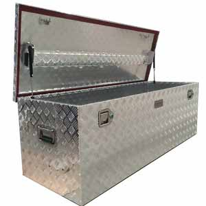 00405 Rectangular Aluminium Tool Box -1450 mm